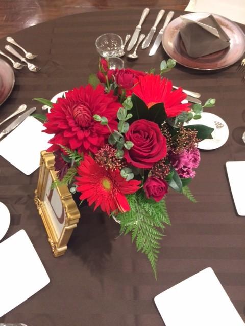 お花でゲストへおもてなし 卓上装花 お知らせ ブログ 沖縄の結婚