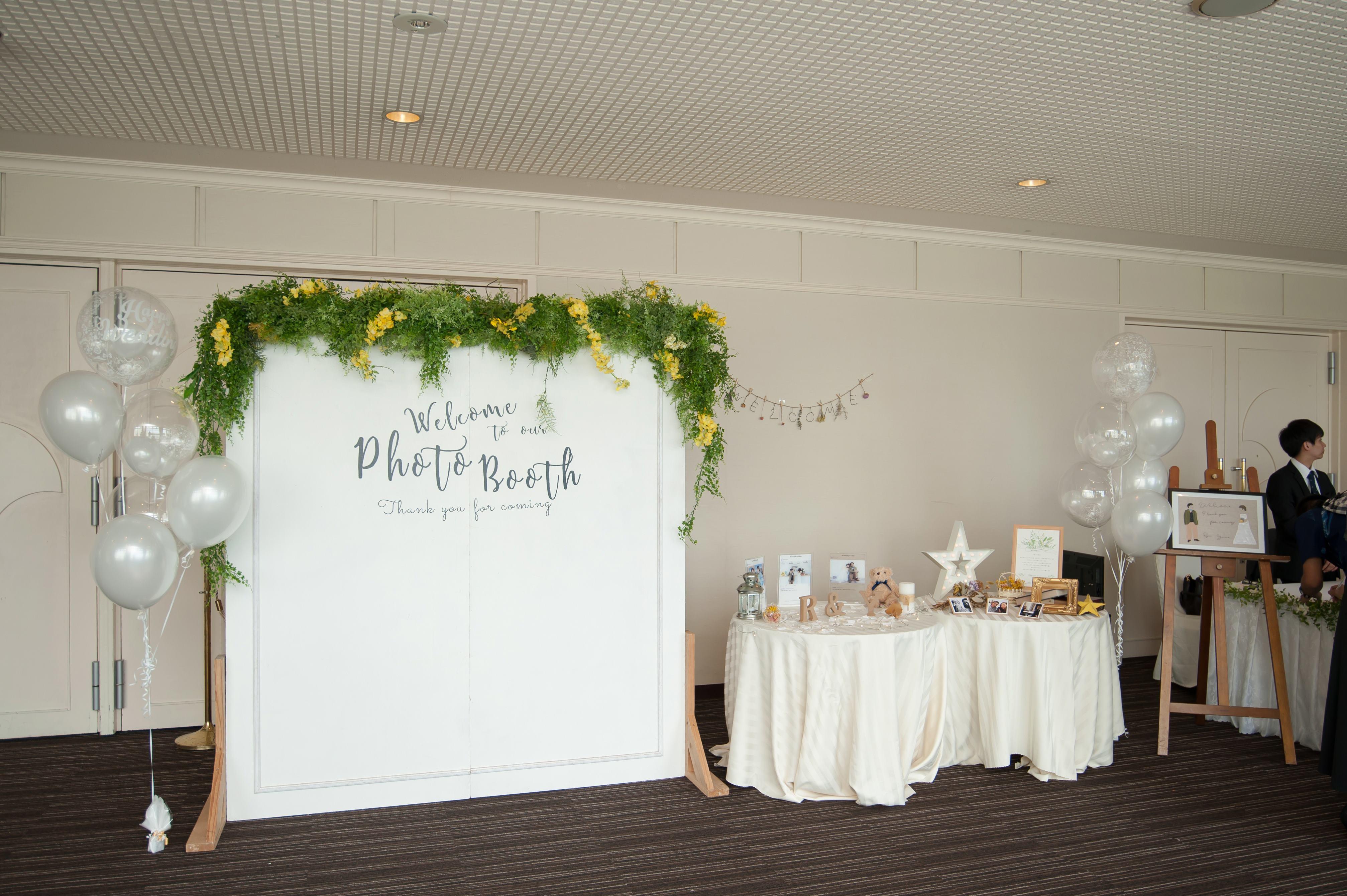 フォトブース☆彡 お知らせ・ブログ 沖縄の結婚式場なら【エリスリーナ西原ヒルズガーデン】